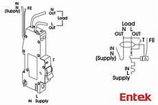 entek electric rcbo wiring diagram www entekelectric