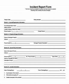 free 28 accident report forms pdf