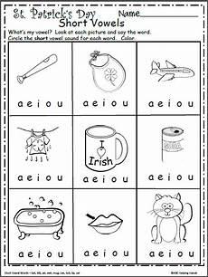 free short vowels worksheet for kindergarten madebyteachers