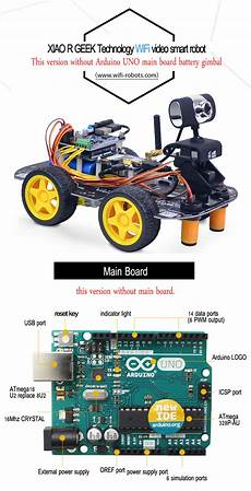 Xiao R Diy Smart Robot Wifi Vid 233 O Contr 244 Le Voiture Kit