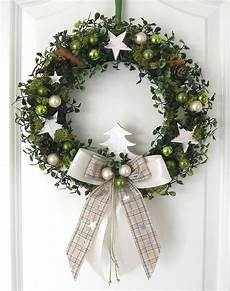 Türkranz Weihnachten Modern - weihnachtskranz gr 252 n adventskranz wandkranz t 252 rkranz