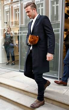wearing brown shoes with a black suit or modern