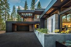 sagemodern designed a dream home with a modern surrounded by forrest in truckee california