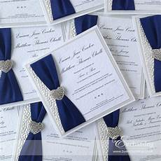 navy wedding invite the ariel collection luxury flat invitation featuring w homemade