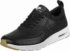 nike air max thea premium w shoes black