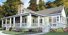 house plans with wrap around porches single story one story house plan with wrap around porch 86229hh