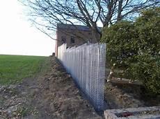 confection d un mur en gabions