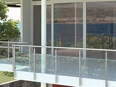 ringhiera in vetro ringhiera in vetro parapetto in vetro rintal qube