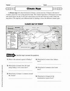 map worksheets 4th grade 11617 climate maps worksheet for 4th 5th grade lesson planet