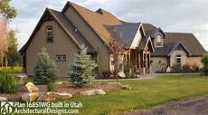 house plans utah craftsman house plan 16851wg client built in utah house plans