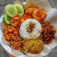 Nasi Uduk Betawi Dengan Gambar Masakan Indonesia