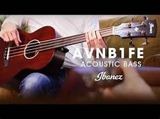 Ibanez Avnb1fe Compact Acoustic Electric Bass Fretless