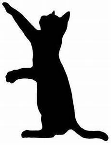 stock photo katzen silhouette scherenschnitt katze und