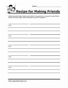 printable worksheets for kids to help build their social skills habilidades sociales