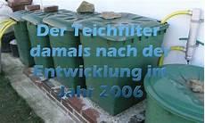 Teichfilter Selber Bauen Gegen Algen Und Gr 252 Nes Wasser
