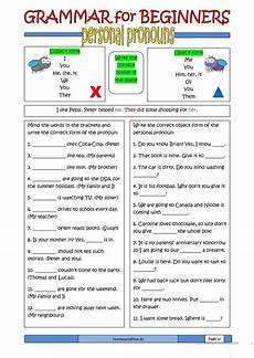 grammar worksheets for esl learners 25101 grammar for beginners personal pronouns personal pronouns grammar worksheets personal