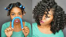 Rod Curl Hairstyles how to create smooth flexi rods curls on transitioning