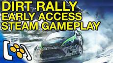 dirt rally steam early access gameplay it s not dirt 4