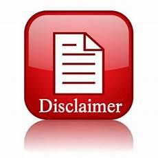 fibromyalgia disclaimer