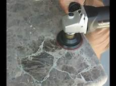 polishing granite