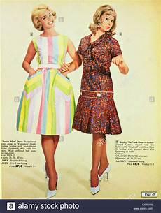 1960s Uk Womens Fashion Catalogue Brochure Plate Stock