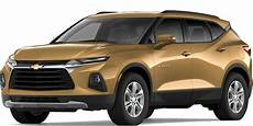 chevrolet size blazer 2020 2019 chevrolet blazer exterior color options carl black