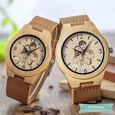 montre en bois pas cher montre personnalisable en bois de bambou to my all pour