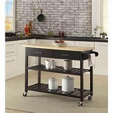 island trolley kitchen kitchen island trolley with open shelves black buy kitchen islands trolleys 240064