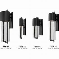 hinkley lighting 1320bk shelter outdoor wall light black ebay