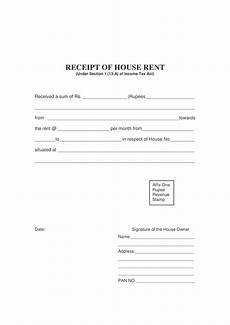 house rent receipt templates at allbusinesstemplates com