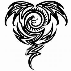 Drachen Schwarz Weiß - kreisf 246 rmiger drache and cool autoaufkleber