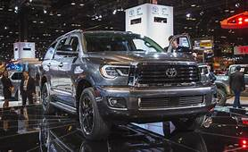 2019 Toyota Sequoia Rumors Redesign Limited Release