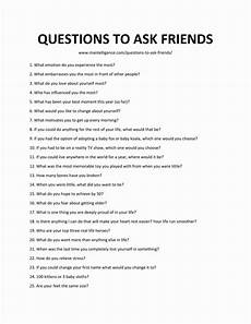 Lustige Fragen An Freunde - 98 questions to ask friends quickly spark great