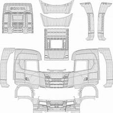 Malvorlagen New Generation Scania New Template V1 0 Mod Truck