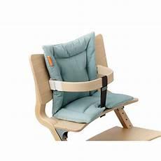 coussin bleu pour chaise haute leander