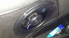 test speakers target audio tlc600 peugeot 206