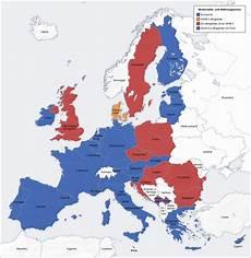 eu länder karte montenegro und der