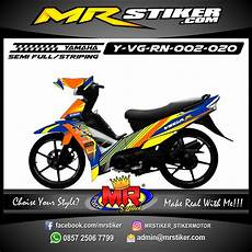 Stiker Motor Fiz R Keren by Stiker Motor Decal R New Race Grafis Orange Stiker