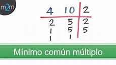 minimo comun multiplo encontrar el m 237 nimo com 250 n m 250 ltiplo m c m youtube