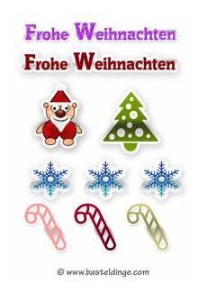 weihnachtliche sticker und aufkleber vorlagen basteldinge