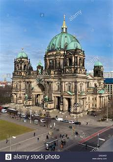 The Ornate Berliner Dom Cathedral In The City Centre
