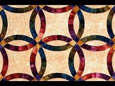 double wedding ring part 1 quilt video by shar jorgenson