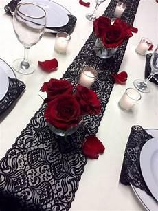 lace table runner 12ft 20ft 7in wide black wedding table runner vintage overlay black