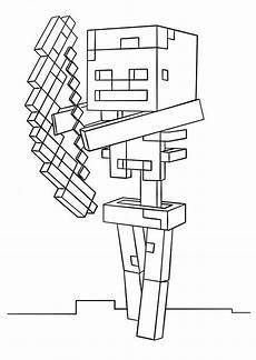 minecraft 18 ausmalbilder kostenlos