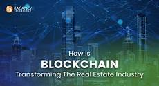 how is blockchain transforming the real estate industry