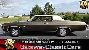 1969 Chevrolet Impala Custom Gateway Classic Cars Chicago