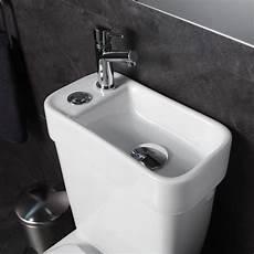 toilette avec lavabo intégré pack wc 2 en 1 avec lave mains 233 cologique sortie