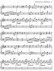 o little town of bethlehem piano solo tonioli holy sheet music