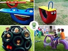 faire des jeux fabriquer des jeux pour enfants en pneus