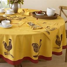 Kitchen Linens And Decor by Farmhouse Rooster Tablecloth Williams Sonoma Home